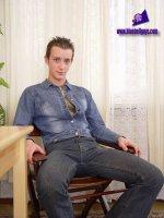 Порно фото с красивым парнем Arvidas