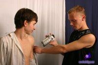 Голые фото геев от сайта BlueBellGuys с парнем Nike and Cyprian